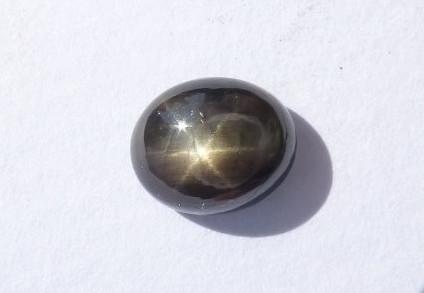 Olivia Kane Hidden 6-ray Star Sapphire Ring