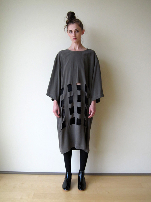 Nancy Stella Soto Washed Silk Tunic