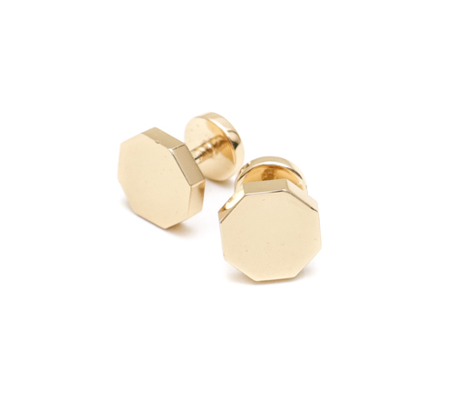 Gabriela Artigas Octagon Cufflinks in Gold