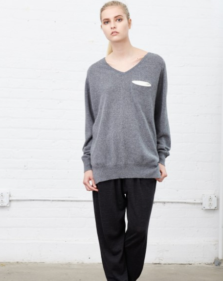 Demylee Bennie Grey Sweater