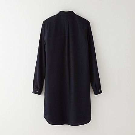 Steven Alan Classic Shirtdress Navy
