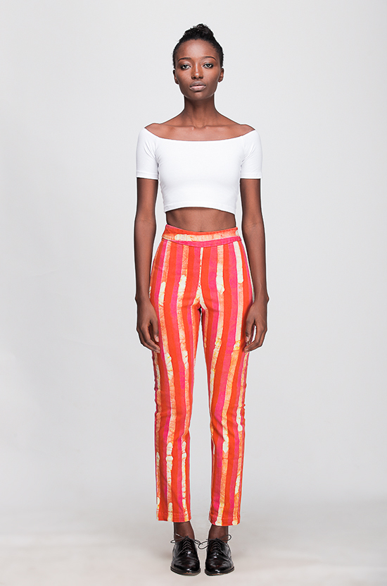 Osei-Duro Vapos Trouser in Candy Stripe
