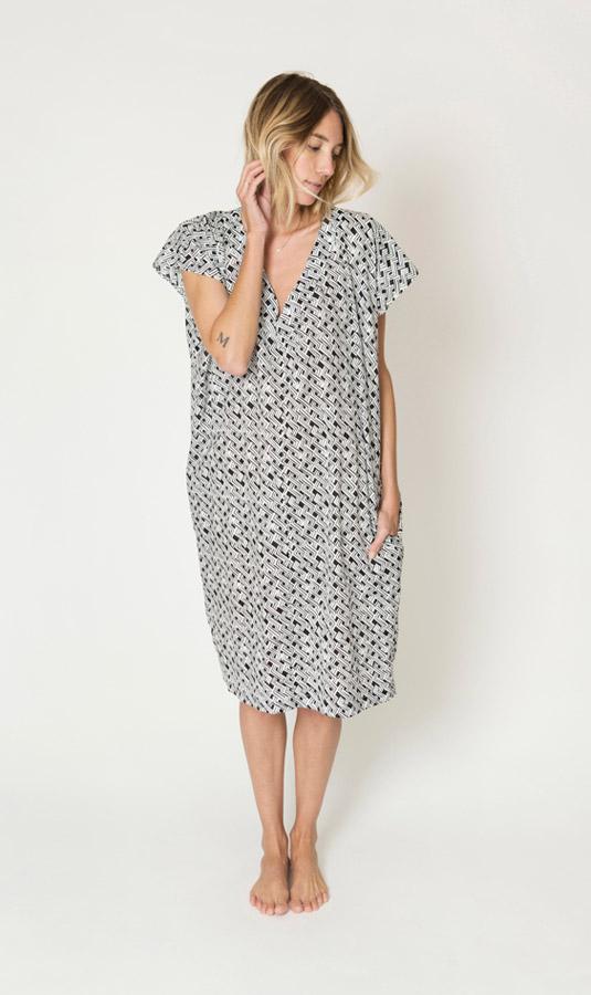 Ilana Kohn Amira Dress in Zigzag