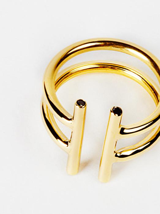 Natasha Wheat Double Non-Ring