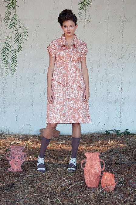 Feral Childe Peplum Shirtdress