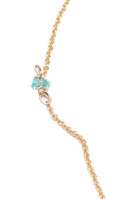 Sarah Dunn Druzy Necklace on 14k Gold Chain