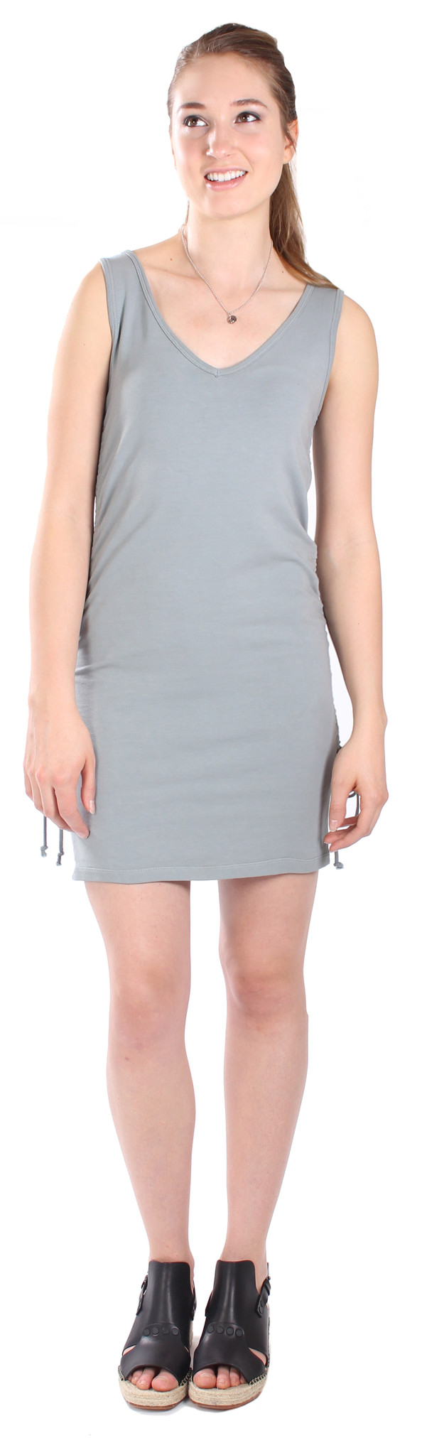 Pre-Order: Rauched Tunic in Slate