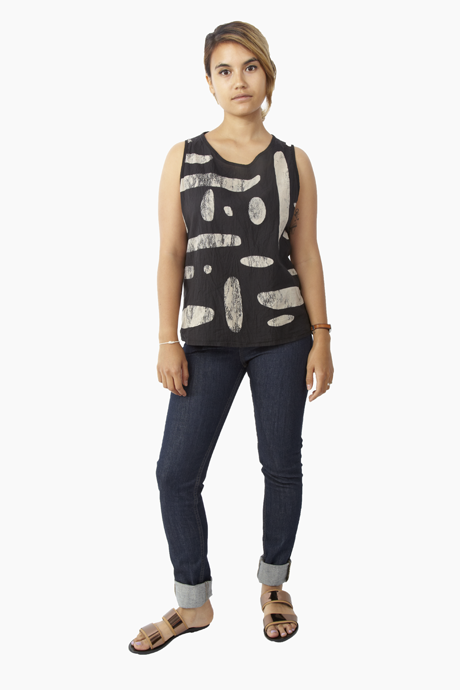 Uzi Pebble Tank Black