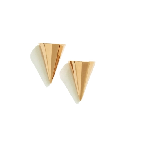 Sarah Magid Mini Metal Cone Earrings