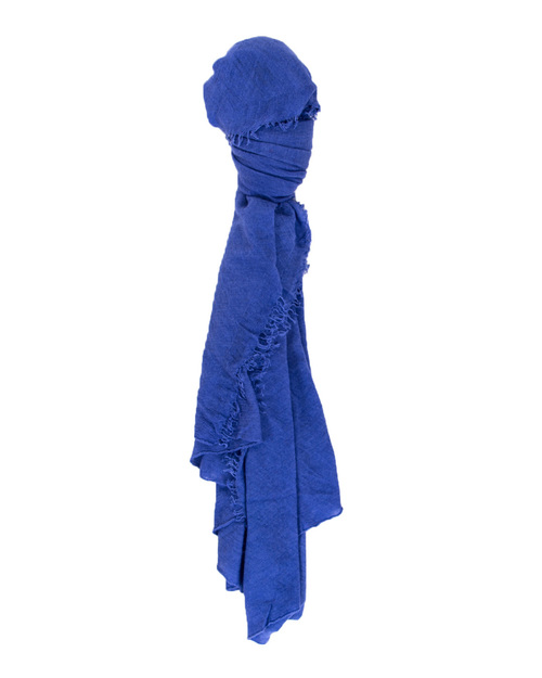 Grisal Isola Cashmere + Silk Scarf in Blue Iris