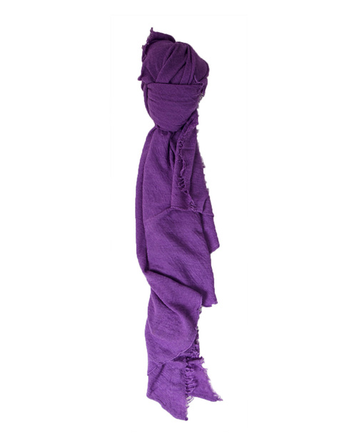 Grisal Isola Cashmere + Silk Scarf in Dewberry