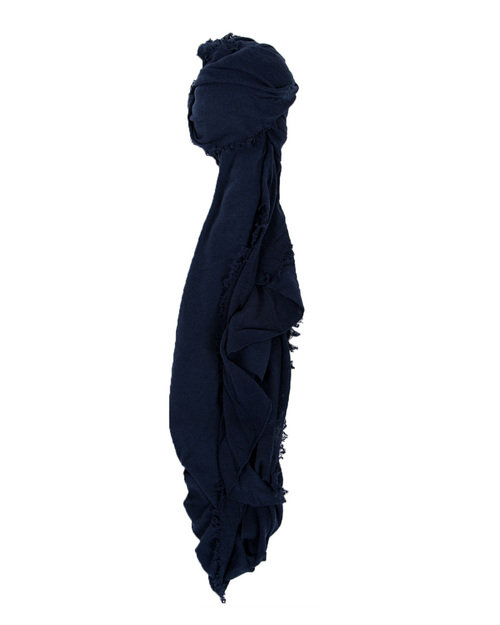 Grisal Le Tee 100% Cotton Scarf in Navy
