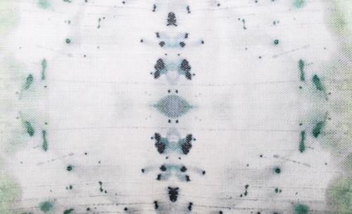 "Eskayel Nairutya Print Pillow in Nyanza 14""x24"""