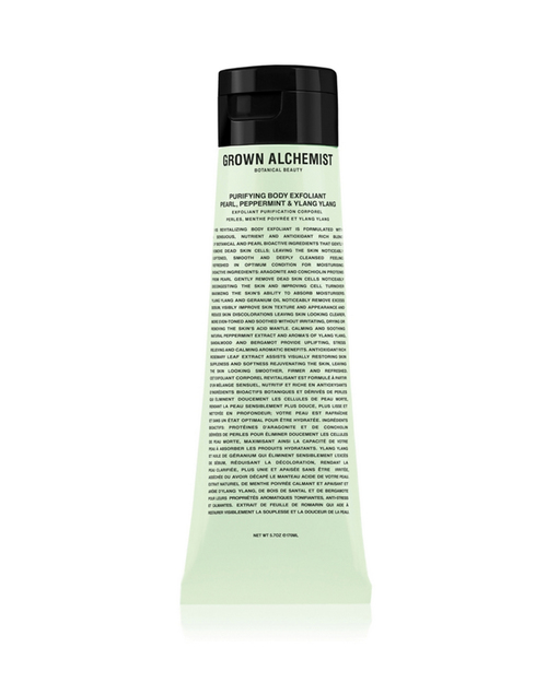 Grown Alchemist Body Exfoliant with Pearl, Peppermint and Ylang Ylang