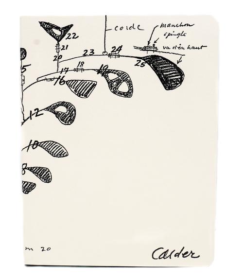 "Postalco x Calder Foundation Spiral A5 Notebook 8.27 x 5.83"" Ivory"