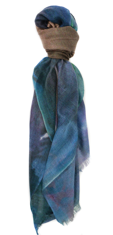 Manoosh Different Rules 100% Cashmere Scarf