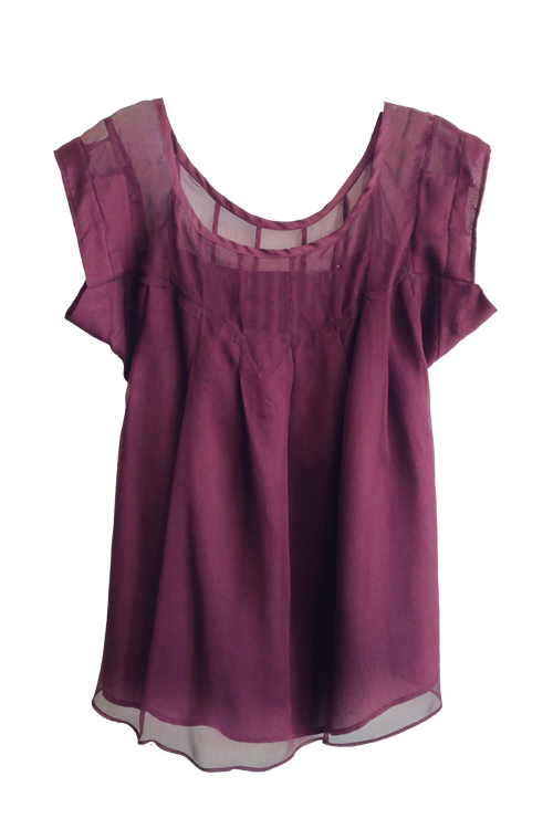 Heidi Merrick Sea Top (Oxblood)