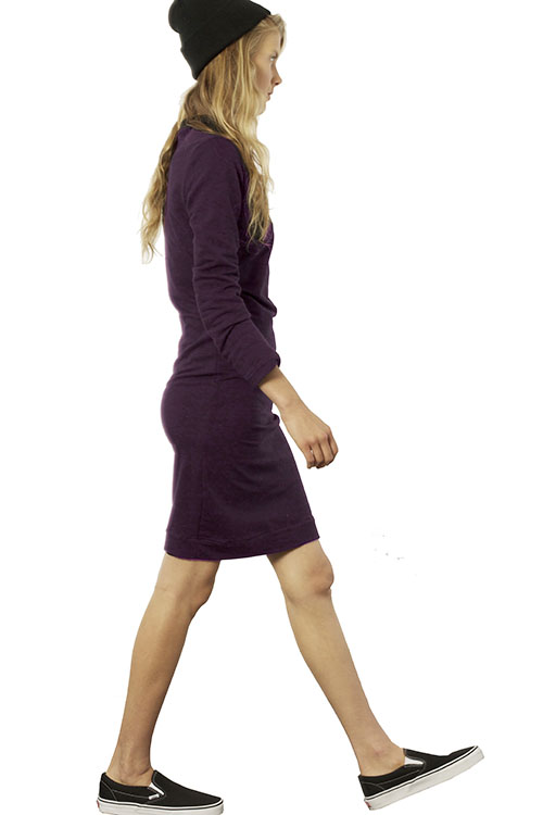 Heidi Merrick Orvis Dress   Plum