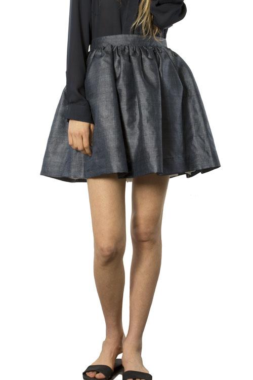Heidi Merrick Bora Skirt (Navy)