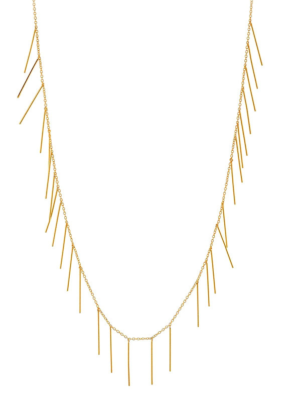 Gorjana Marmont Fringe Necklace