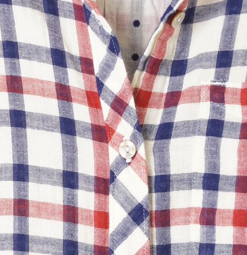 California Tailor Shirt No. 1 in Cottons Point Plaid