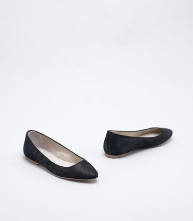 Anniel Pointed Ballerina - Black