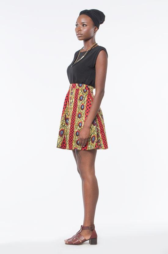 Osei-Duro Orbis Panel Skirt