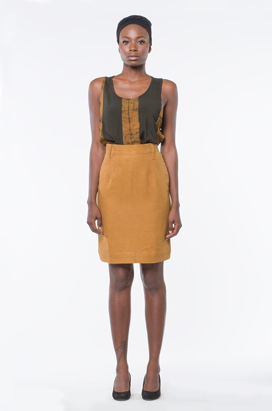 Osei-Duro Graphis Pencil Skirt