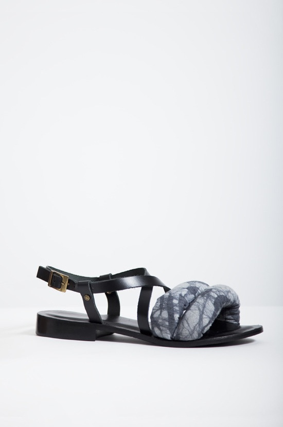 Osei-Duro Leather X Sandal