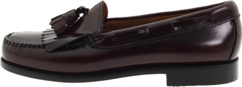 Bass Burgundy Layton Loafers