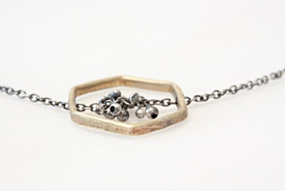 Kiersten Crowley Hex Bit Necklace