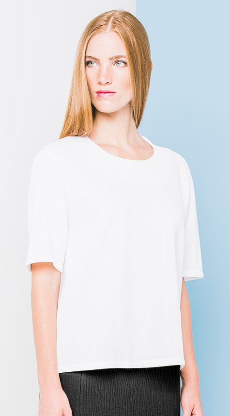 Cupro Knit T-Shirt