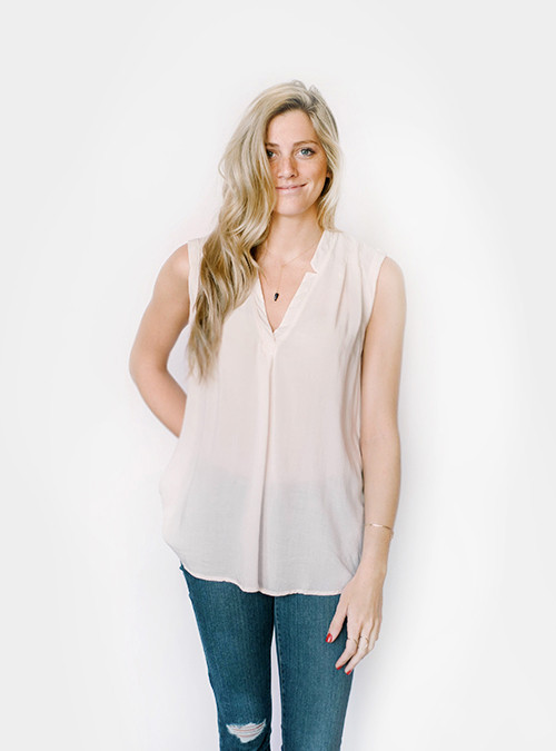 Rayon Voile Tank