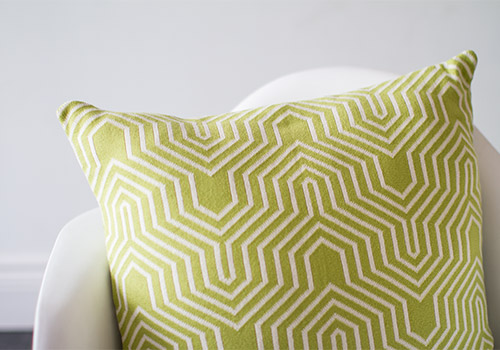 Darzzi Akaar Green Natural Cotton Cushion