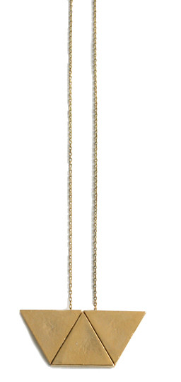 Laura Lombardi Trapezoid Necklace