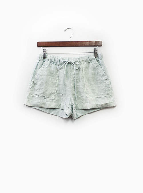 Linen Pocket Short