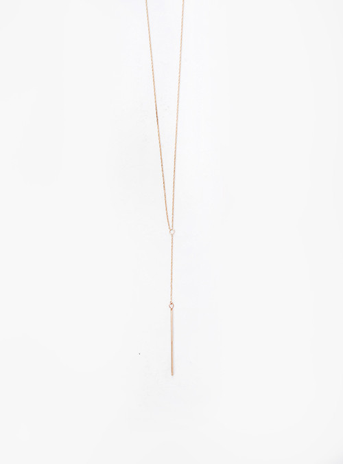 Gem + Blue Pull-Over Lariat