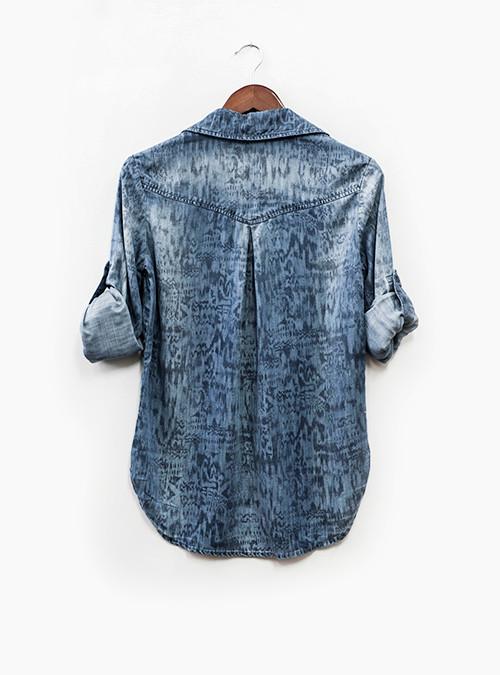 Bella Dahl Single Pocket Pullover