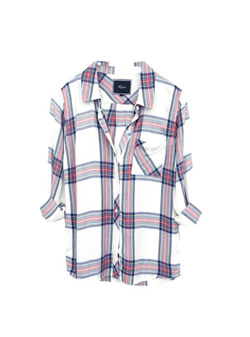Rails Hunter Plaid Button Down