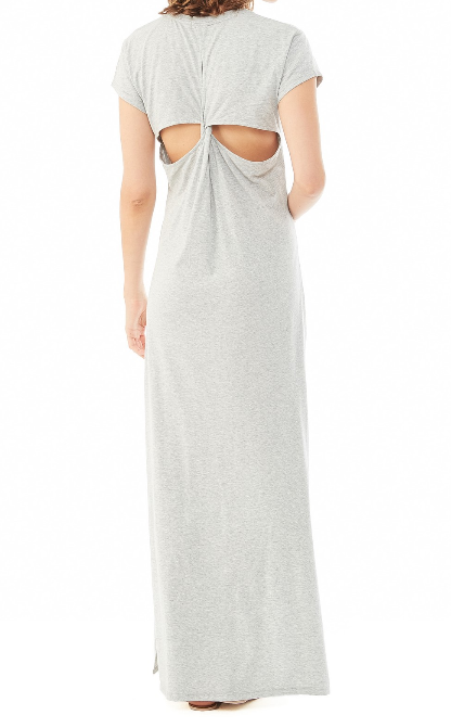 Alternative Apparel Modal Crossback Maxi Dress