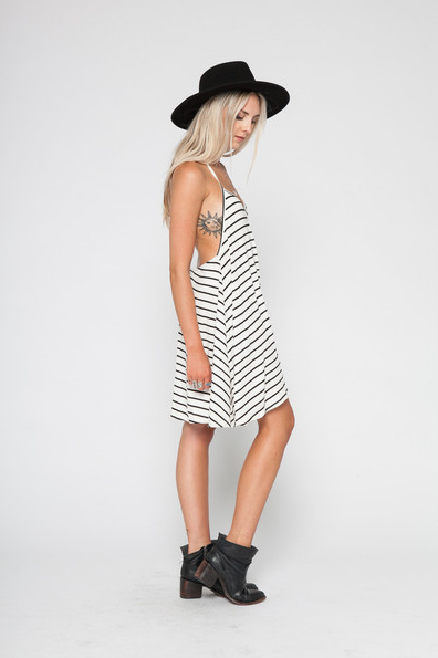 Wonderland Honolulu V-Strap Mini Dress