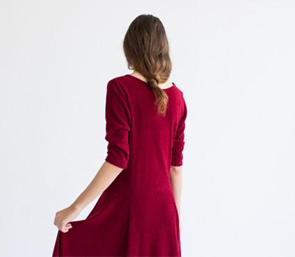 REIFhaus Cascade Sweater Dress