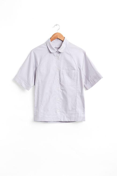 The Sleep Shirt Raglan Pyjama Top Grey Corona