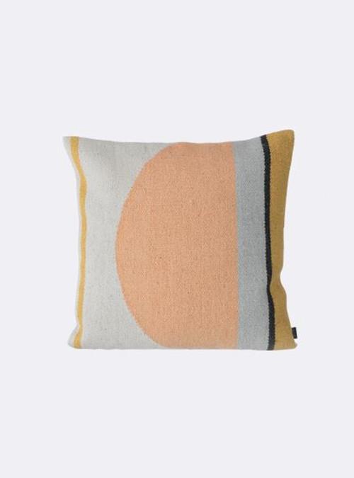 Kelim Pillow - Semi Circle