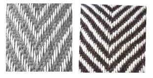 Shawl Chevron Wool Blend