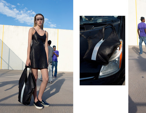 Collina Strada Congaree Dress Black Leather