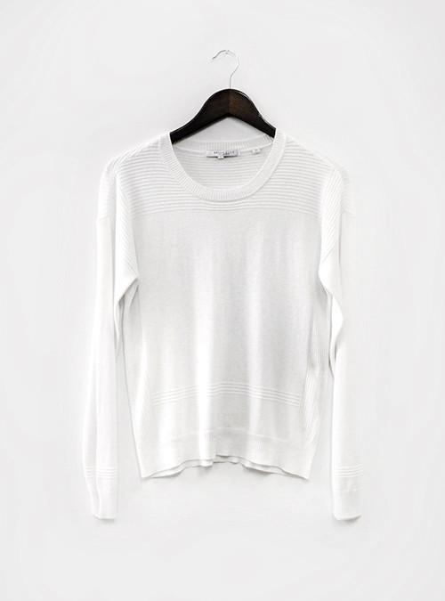 Bella Luxx Geometric Crew Sweater