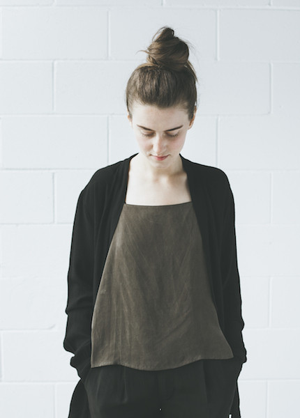 Lacausa Wrap Top | Tar