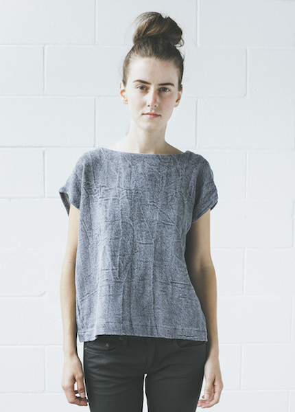 Uzi -Twill Tunic | Denim