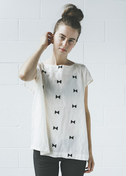 Uzi Ties Tunic | Cream